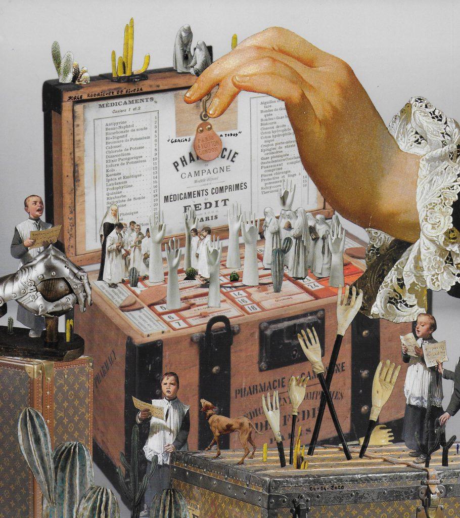 digital collage by JORGE RODRÍGUEZ DE RIVERA