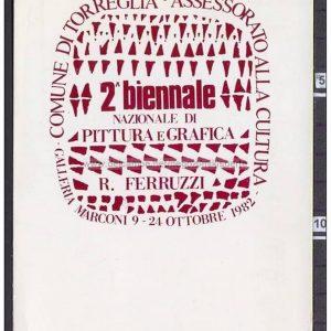 Cartolina Bienn 1982 – ANTONIO SASSU – Italy
