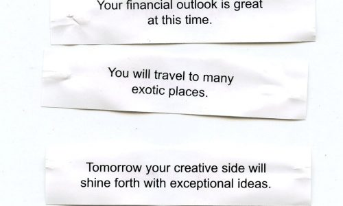 Carry Out Fortune Cookie Poem – Cecil Touchon